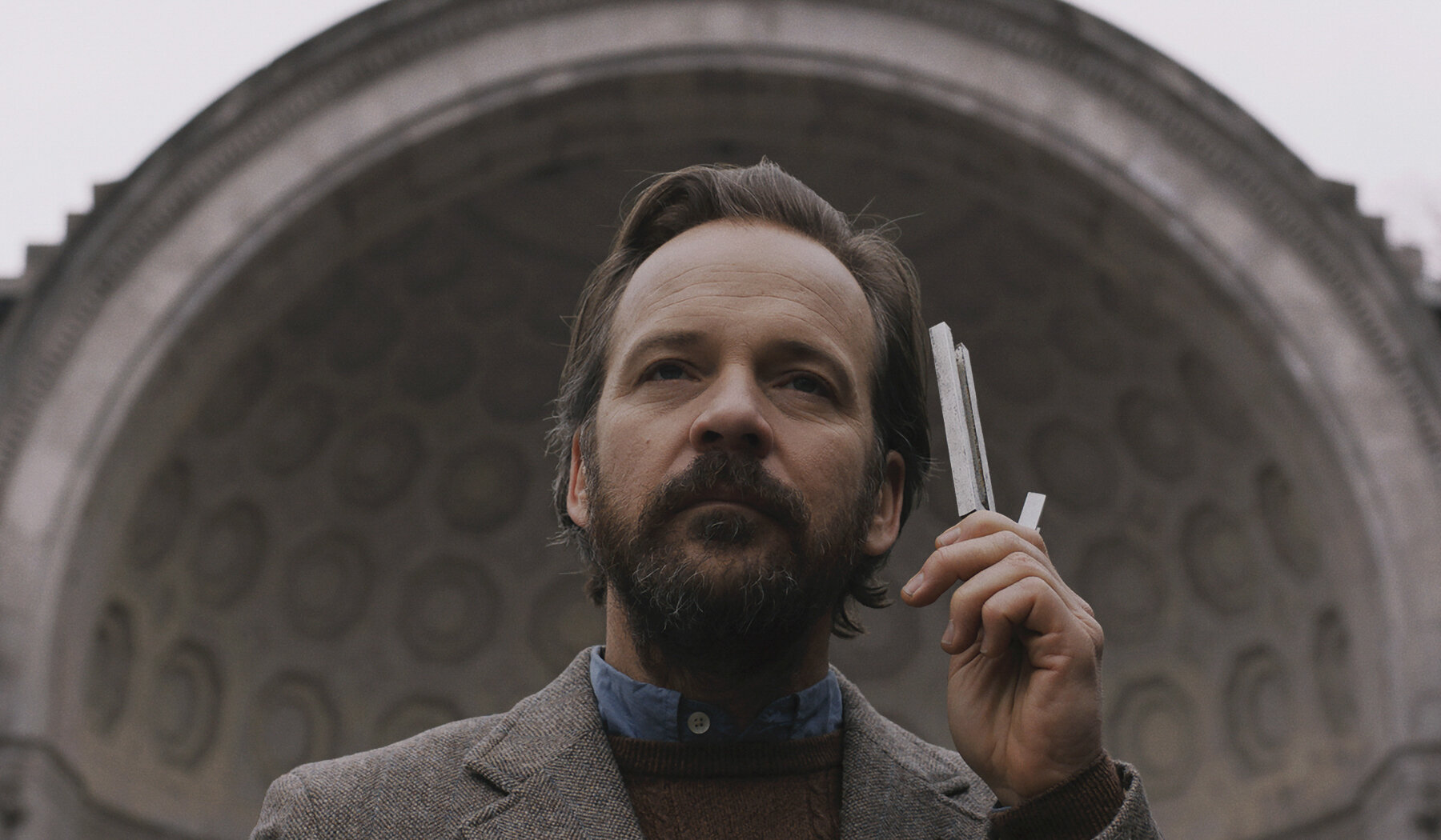"Peter Sarsgaard plays a ""house tuner"" with a theory about the harmonics of New York, in the drama ""The Sound of Silence."" (Photo courtesy of IFC Films.)"