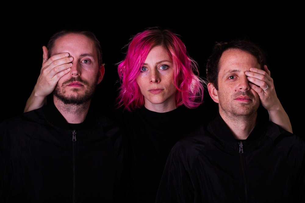 """Noble Bodies — from left, Chris Bennett, Elaine Bradley and Bryce Taylor — explore faith and doubt on their recent album, """"Two Voices."""" (Photo courtesy of the band.)"""