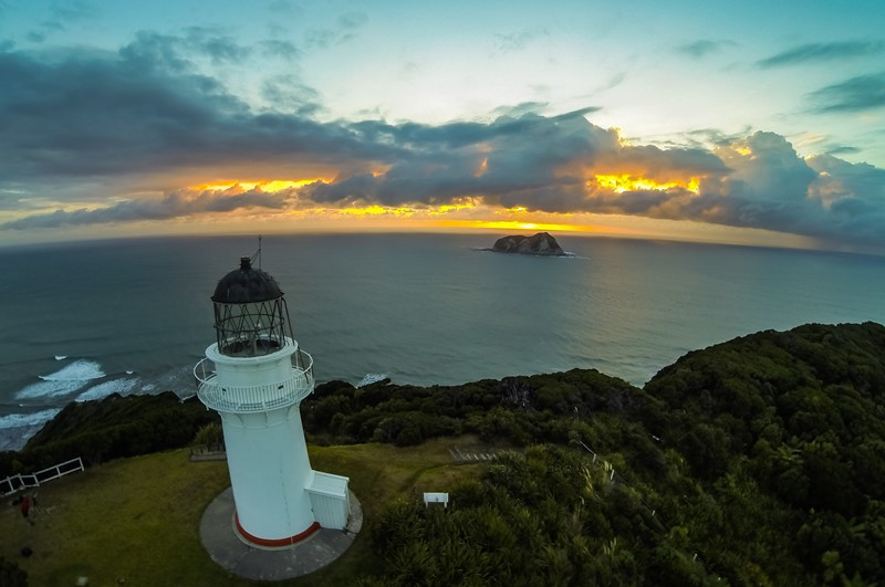 Get up early and experience a magical dawn from the East Cape Lighthouse