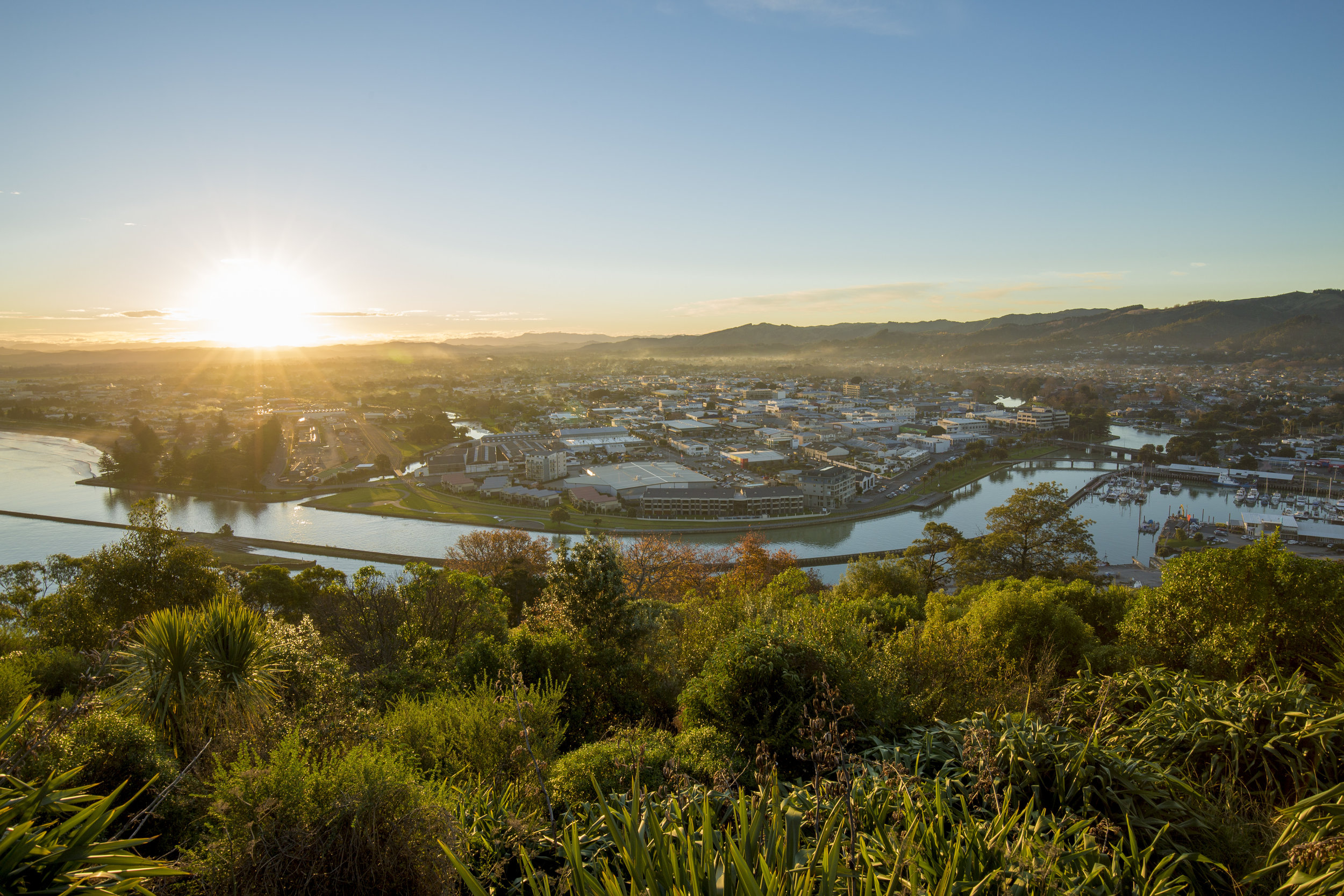 Kaiti Hill has some stunning views of Gisborne