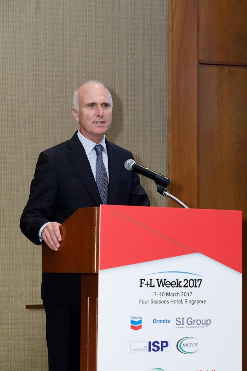 Trevor Russell, CEO, Infineum