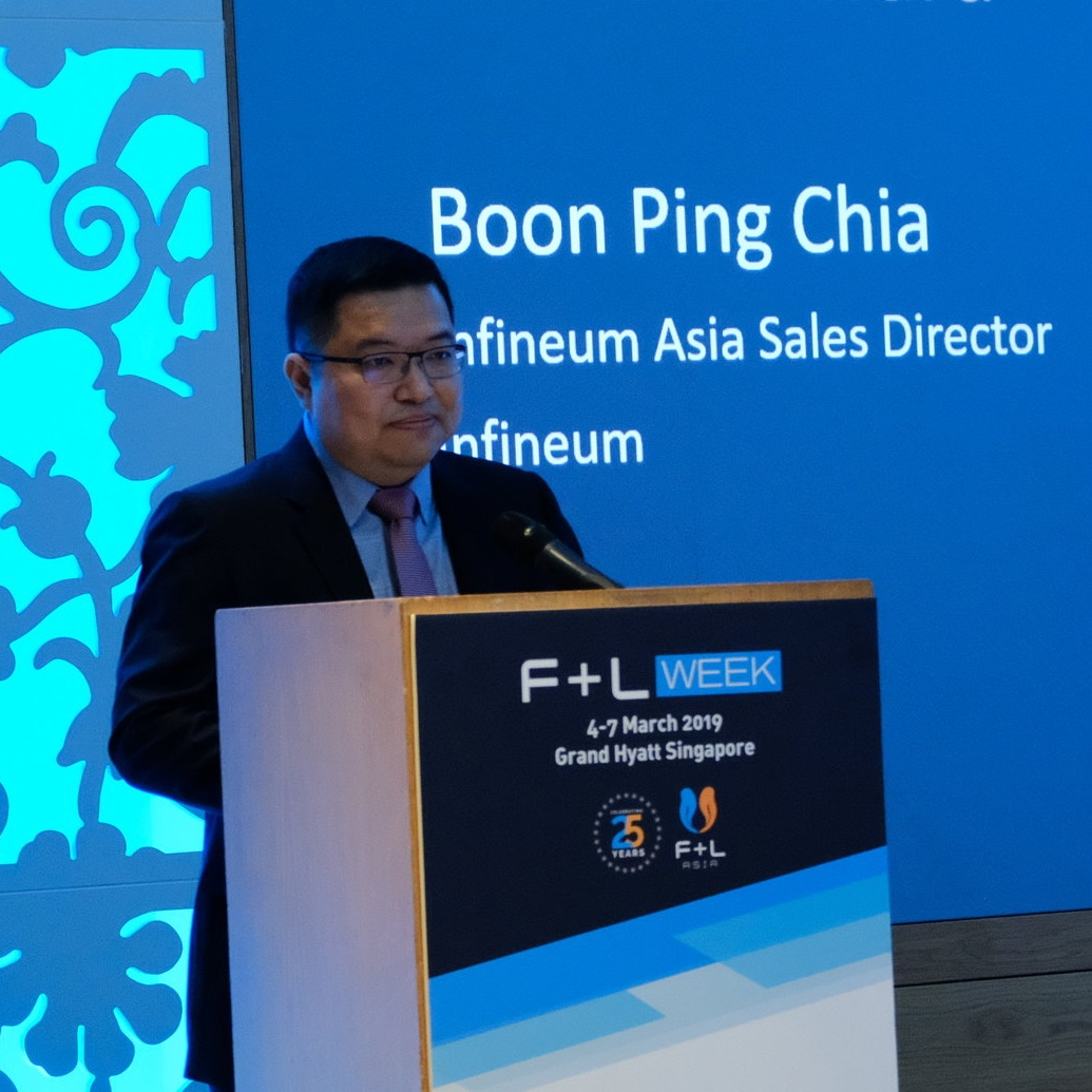 Boon Ping Chia, Infineum Asia Sales Director