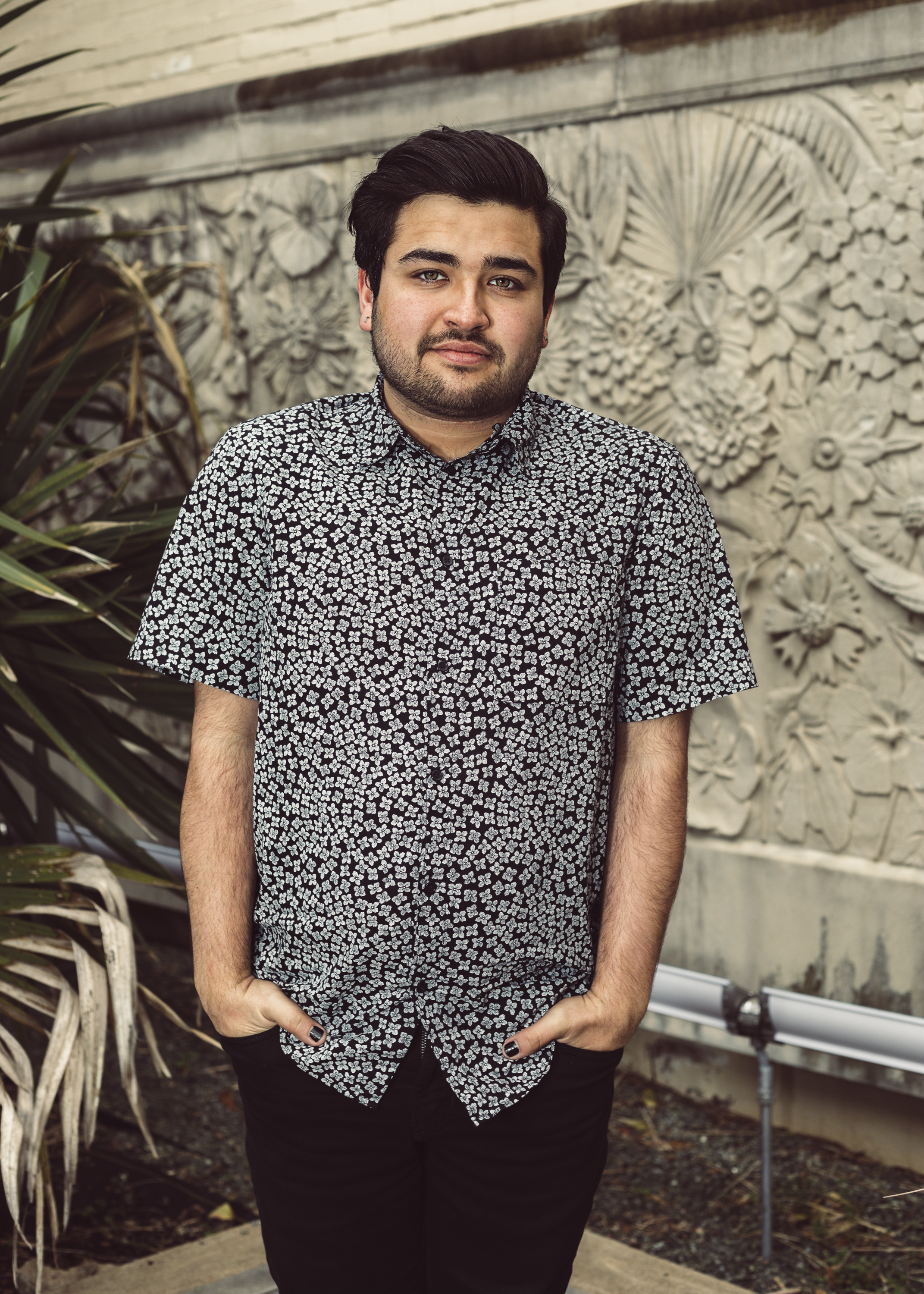 TOMAS PADRON //  A native Floridian, Tomas has always found his home in music. After being involved in the a cappella circuit for two years, Tomas has come to the forefront of the scene, leading his collegiate group, License to Trill, to a national stage. He enjoys helping craft FTR's intimate, cozy, and vulnerable sound.