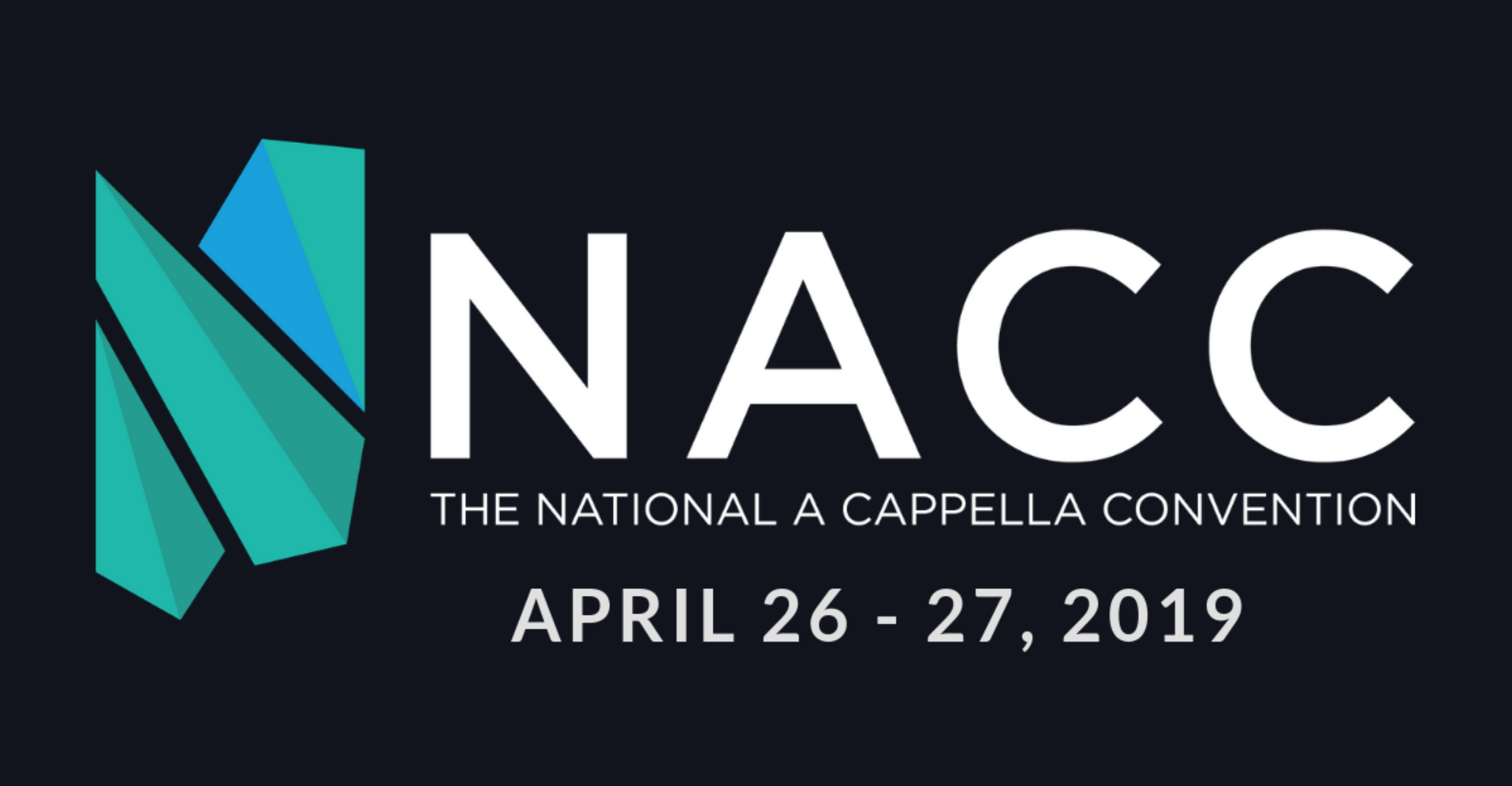 NACC 2019 - We are so excited to announce that we will be headlining performing in Memphis this April at the National A Cappella Convention! We can't wait to share the stage with so many other talented vocal groups, including RESOUND and OneVoice! For tickets and more information visit acappellaconvention.com