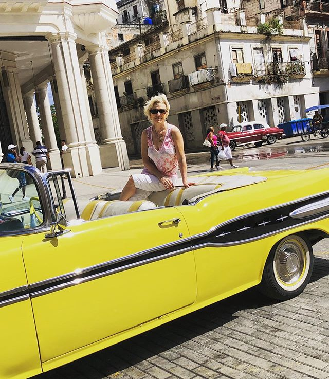 This is the way to roll in Cuba.