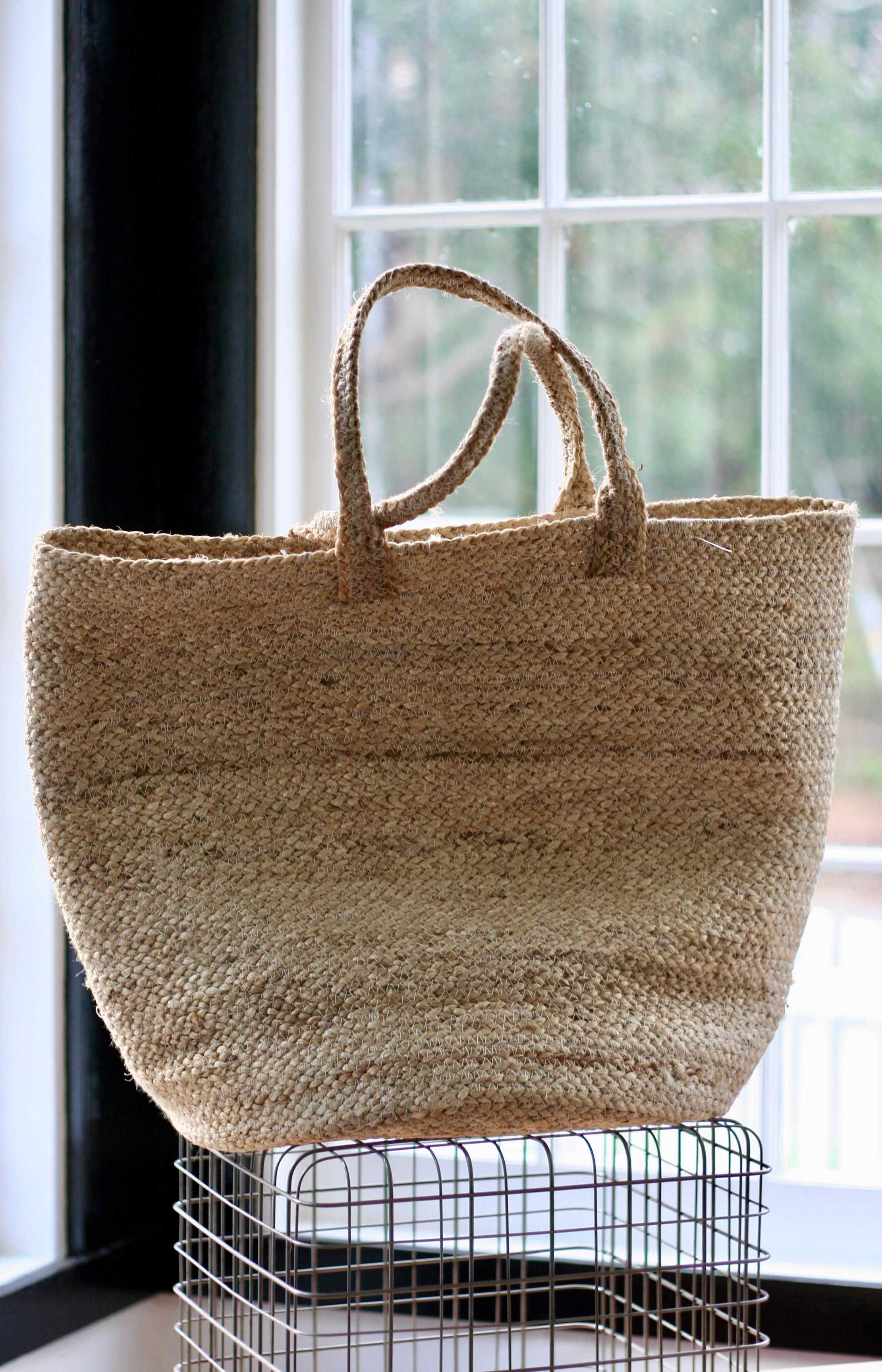 Handmade jute farmers market bag.jpeg