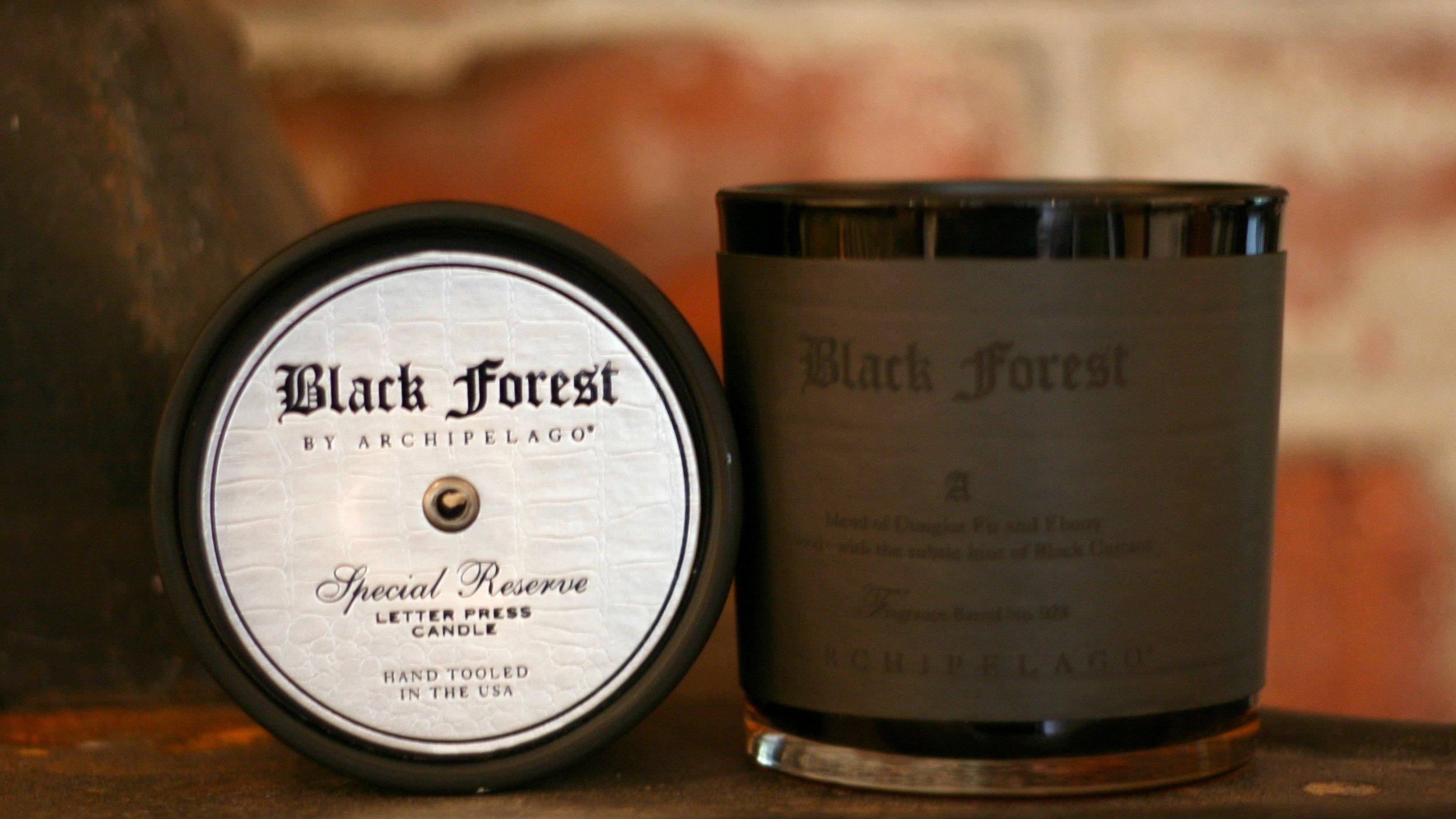 Black Forrest candles pair.jpeg
