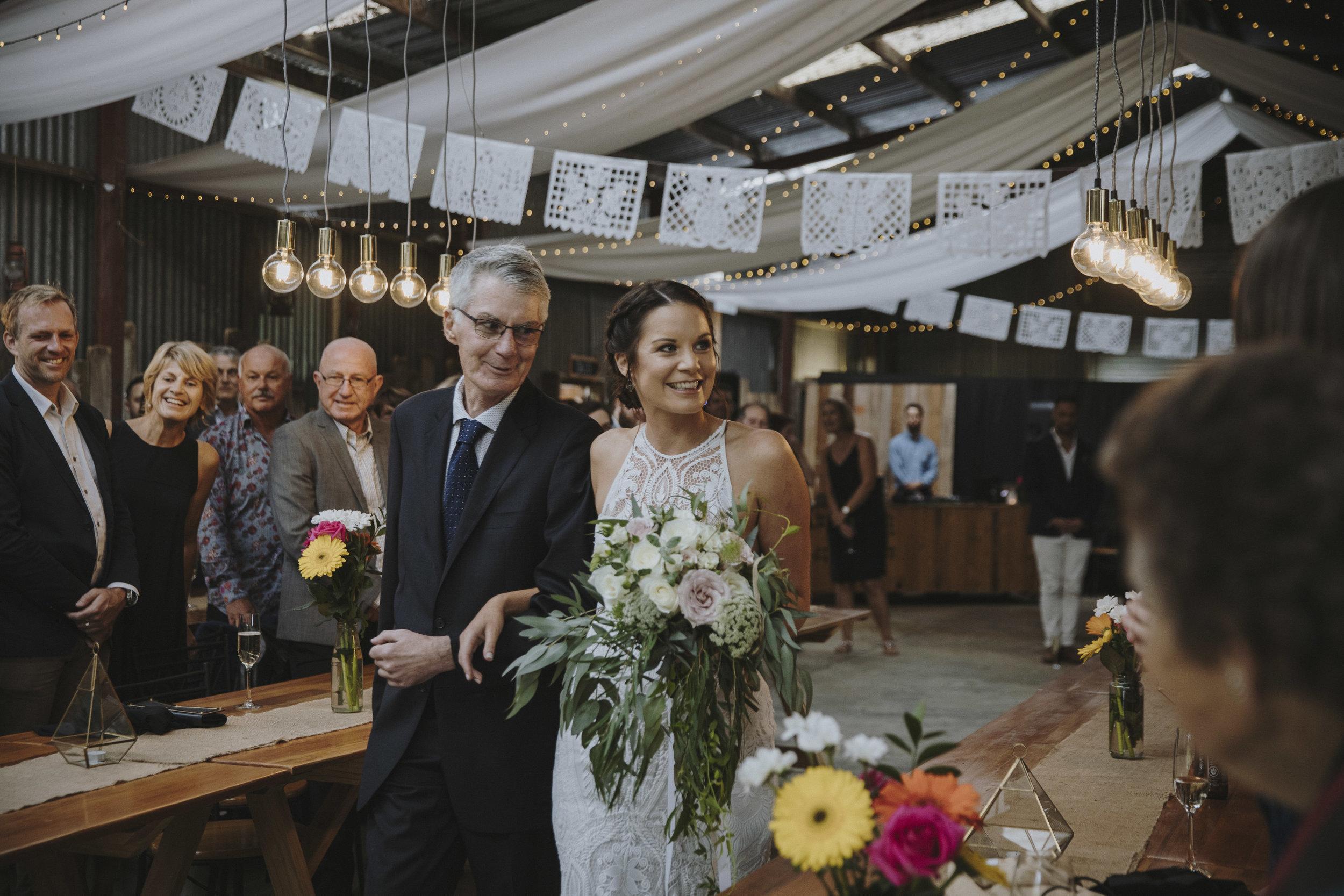 - Amanda and Jonathan's Barn WeddingPhotographer: Mike Braid