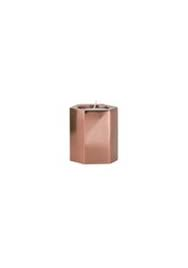 Small Rose Gold Tea Light Holders  x 20 $3 each  70mm high x 60mm diameter