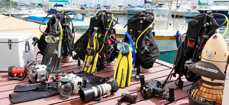 Dive Equipment Rental - Using our network of trusted suppliers, we are able to deliver an unparalleled choice of scuba equipment and services direct to your yacht. We can source, organise and deliver all of the latest hi-tech scuba diving equipment available in the market today, from BCDs and emergency lost diver technology, to the essentials of tank hire and organising tank refilling. All equipment is available for hire or purchase :Full range scuba diving equipmentUnderwater video camerasUnderwater scooters (DPVs)Rebreather supplies ( Sorb, Oxygen, Tanks…)Small compressorsScuba tanks all sizeLarge Oxygen Tank Hire*and Medical Emergency Dive Kit* Large oxygen tank hire is essential for safety when diving in any significant distance from Tahiti, as this is where the nearest decompression chamber is located.**Using our network of trusted suppliers, we are able to deliver an unparalleled choice of scuba equipment and services direct to your yacht. We can source, organise and deliver all of the latest hi-tech scuba diving equipment available in the market today.