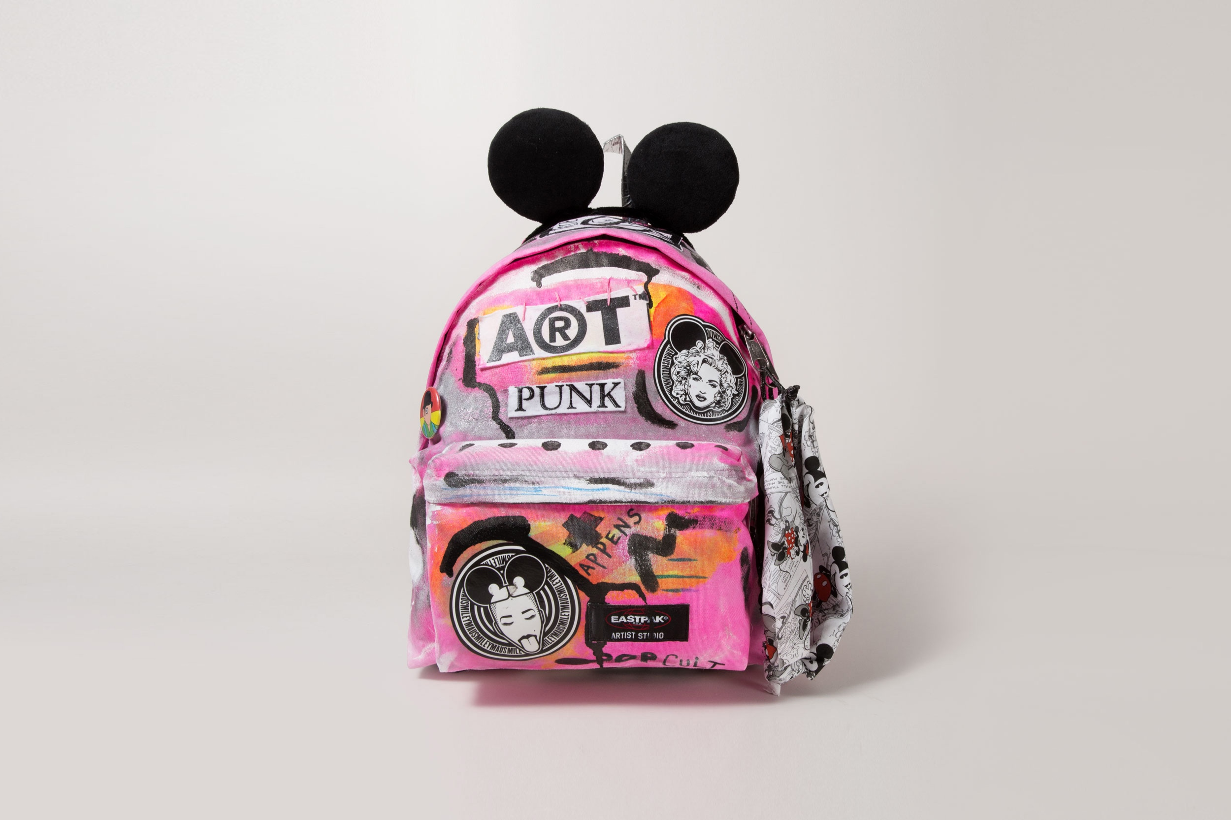 Eastpak - One of eight artists selected to customize product for charity auction