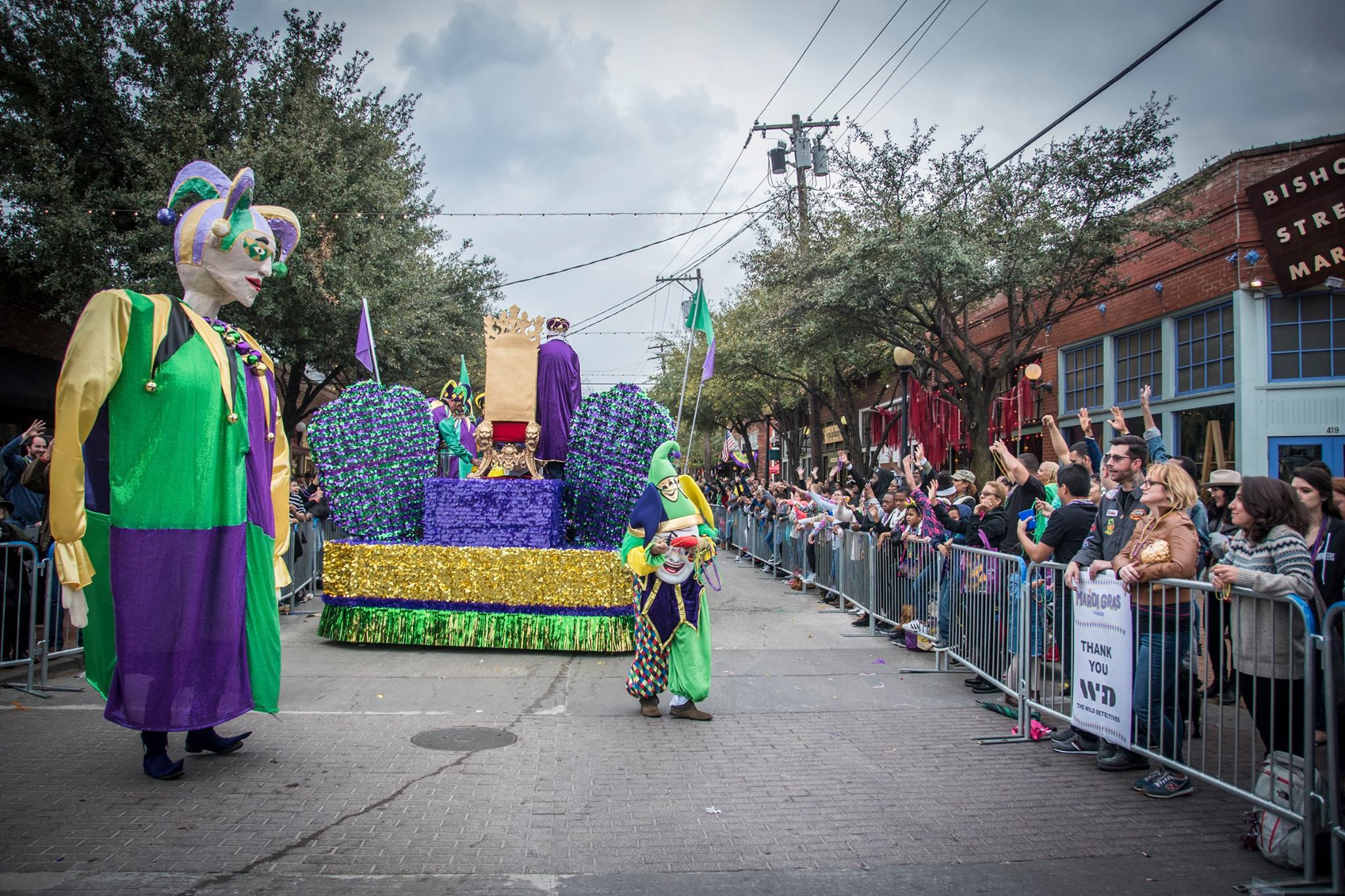 Go Oak Cliff Mardi Gras Parade @ Bishop Arts