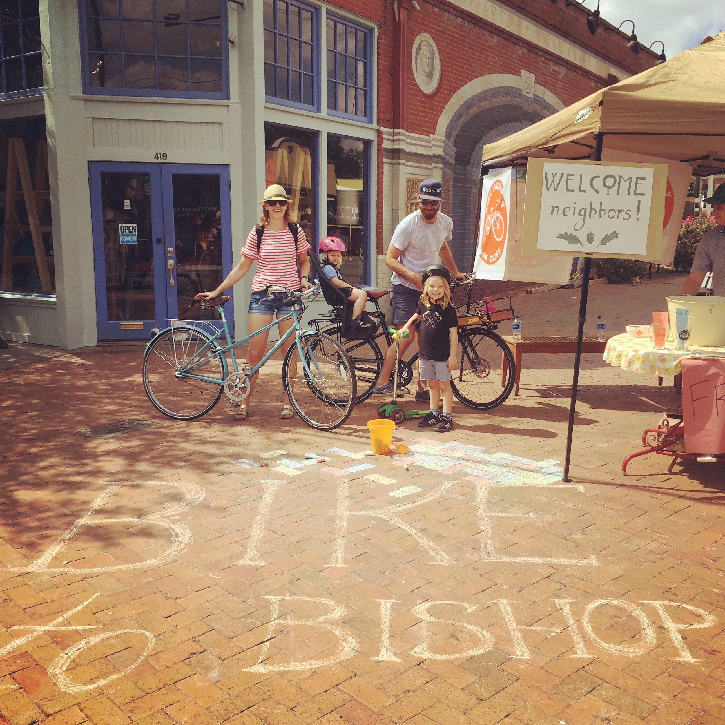 Bishop Arts Bike Corral