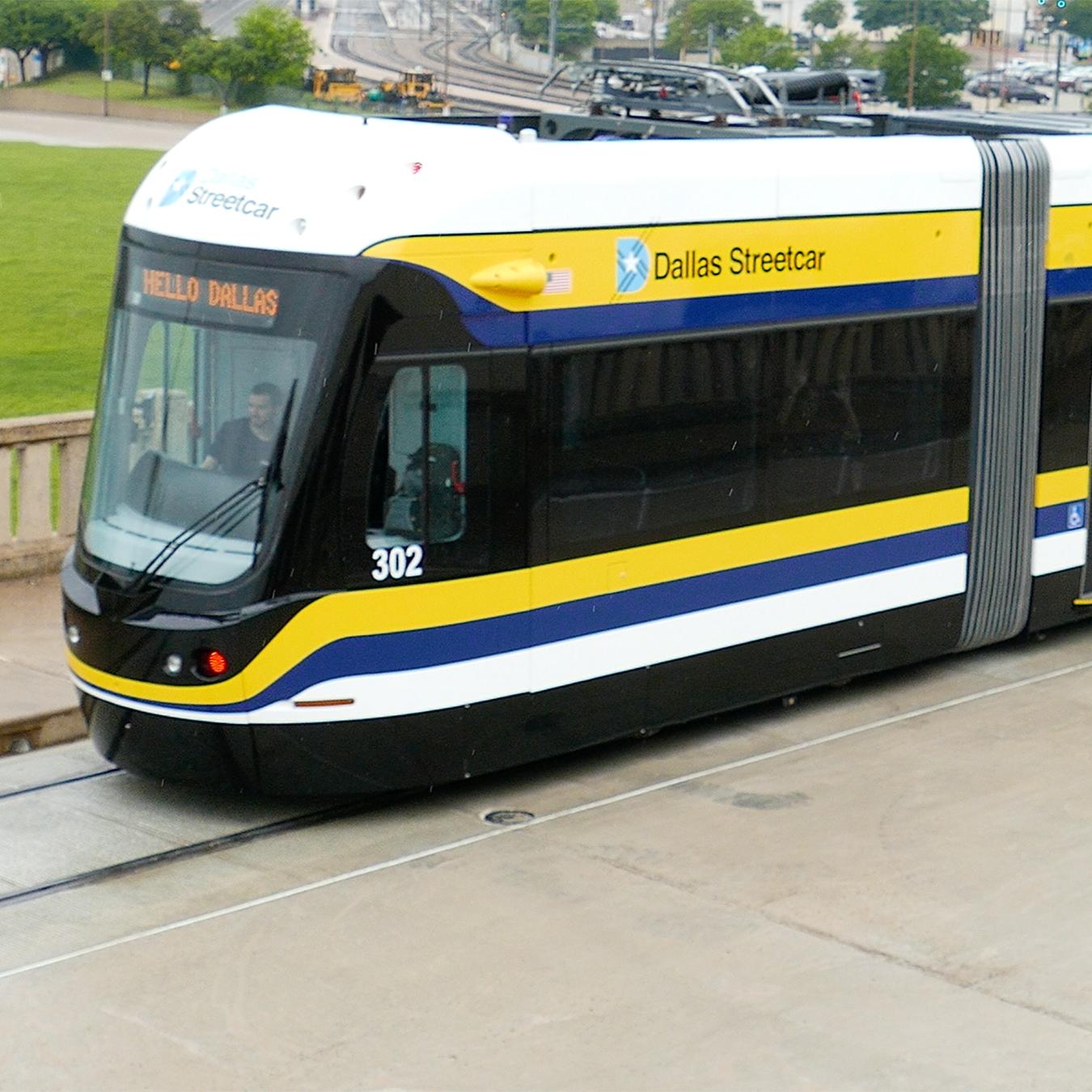 Use the Dallas streetcar!