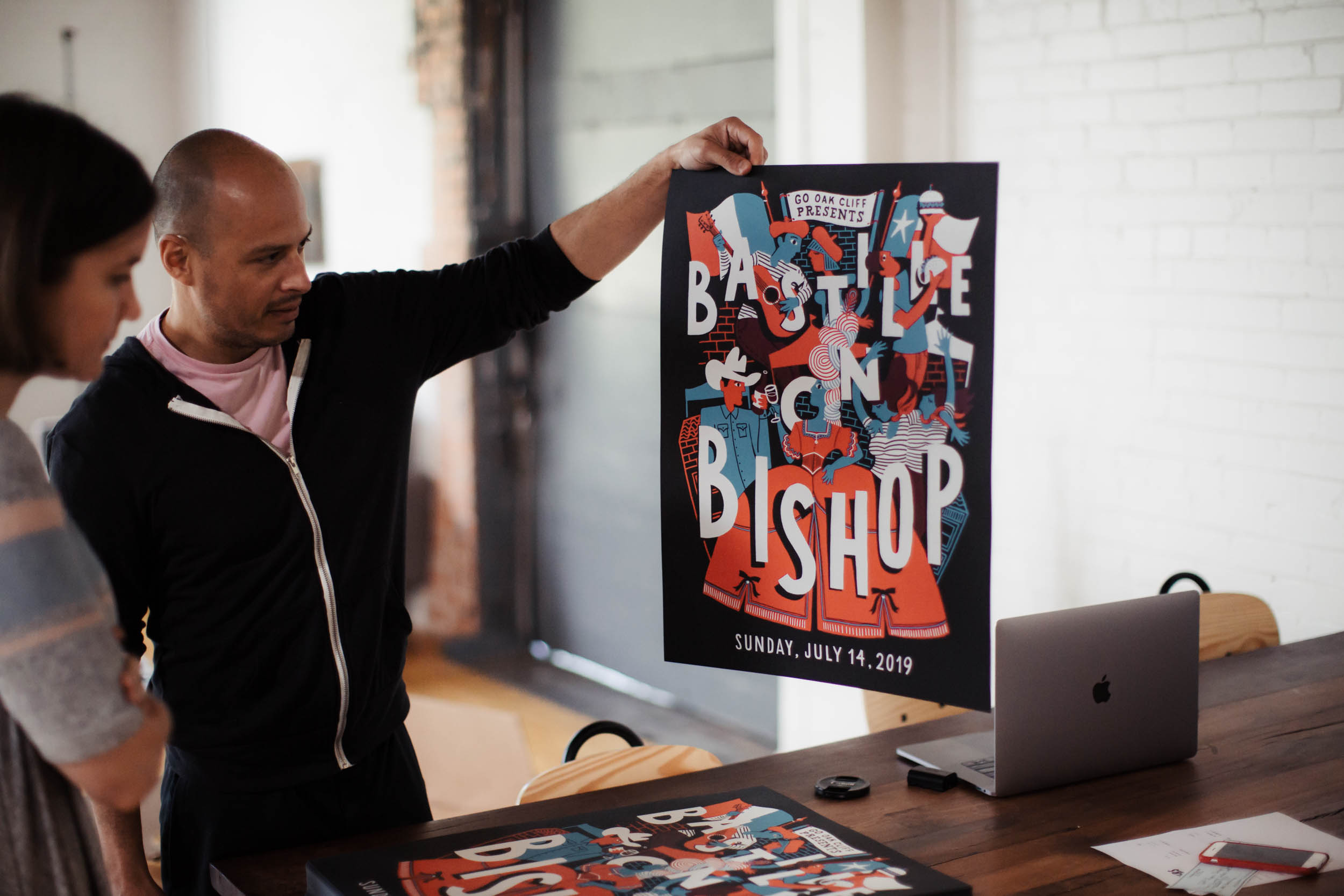 Bastille Posters - Available now for $25 plus tax, while supplies last.