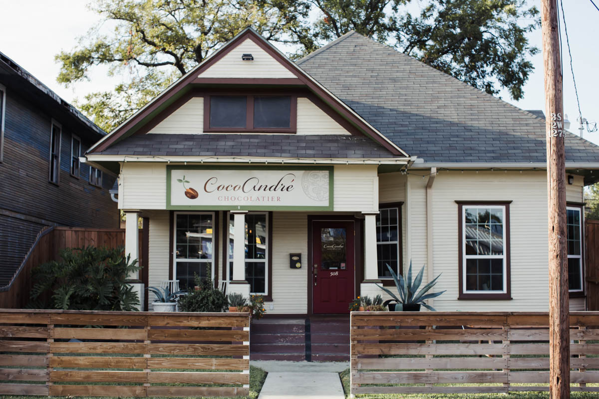 CocoAndré Chocolatier on 508 W. 7th St., Dallas, TX 75208