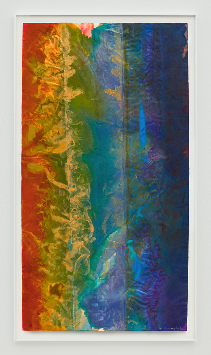 Sam Gilliam, Untitled, 2017