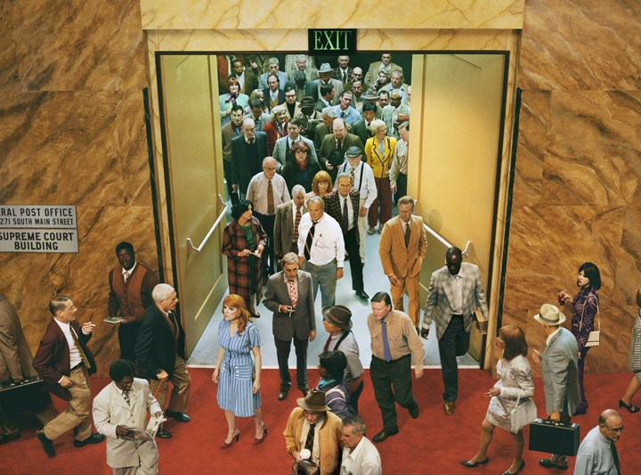 Alex Prager, Crowd #8 (City Hall)