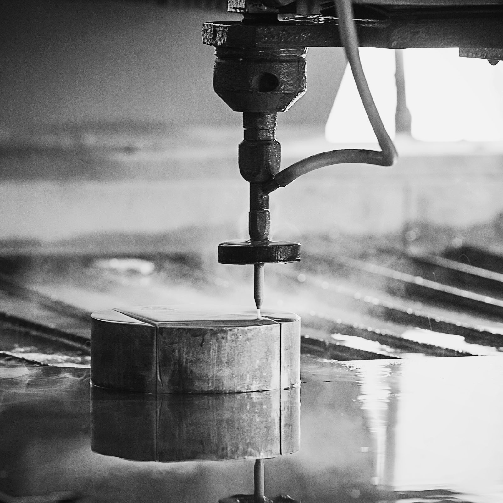 Waterjet cutting services at wilmingtonironworks.com