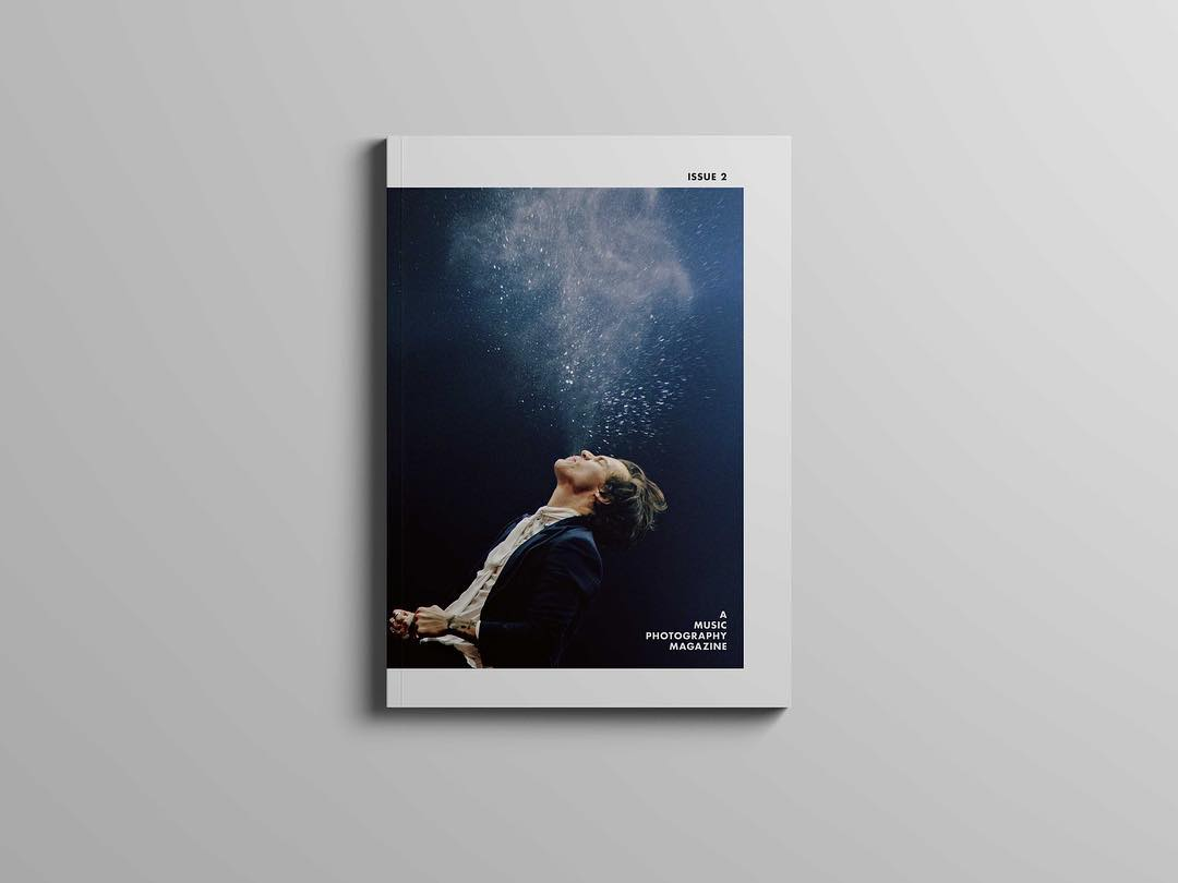 A Music Photography Magazine Issue 2 Cover