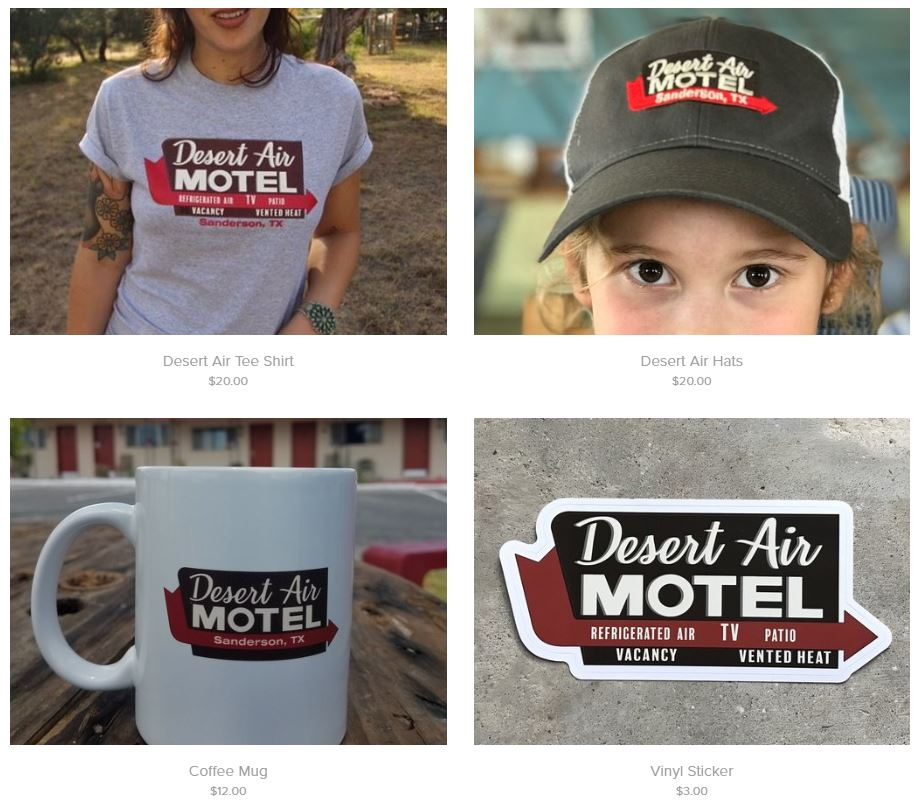 Visit our Merchandise Page!