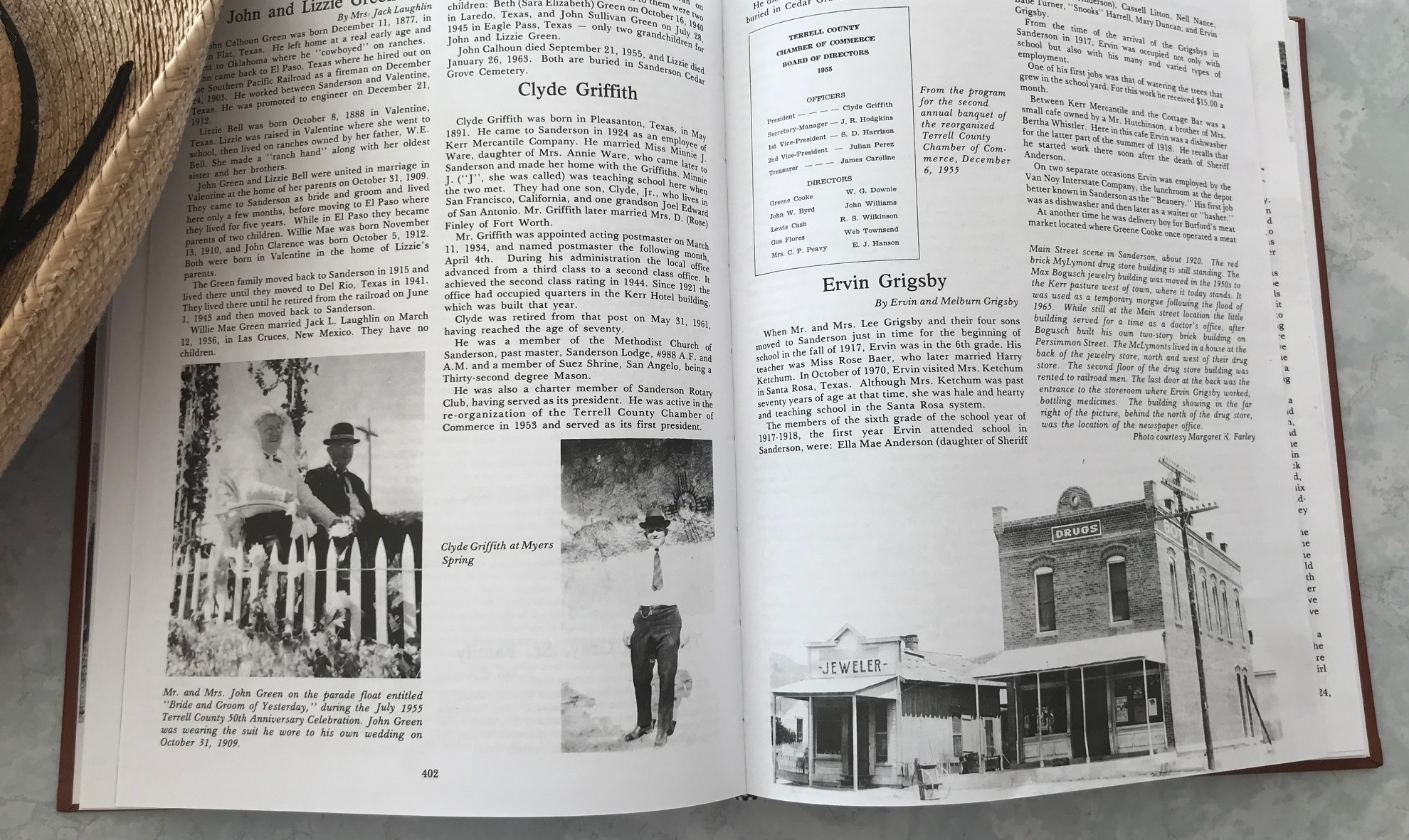 Terrell County Texas, Its Past Its People