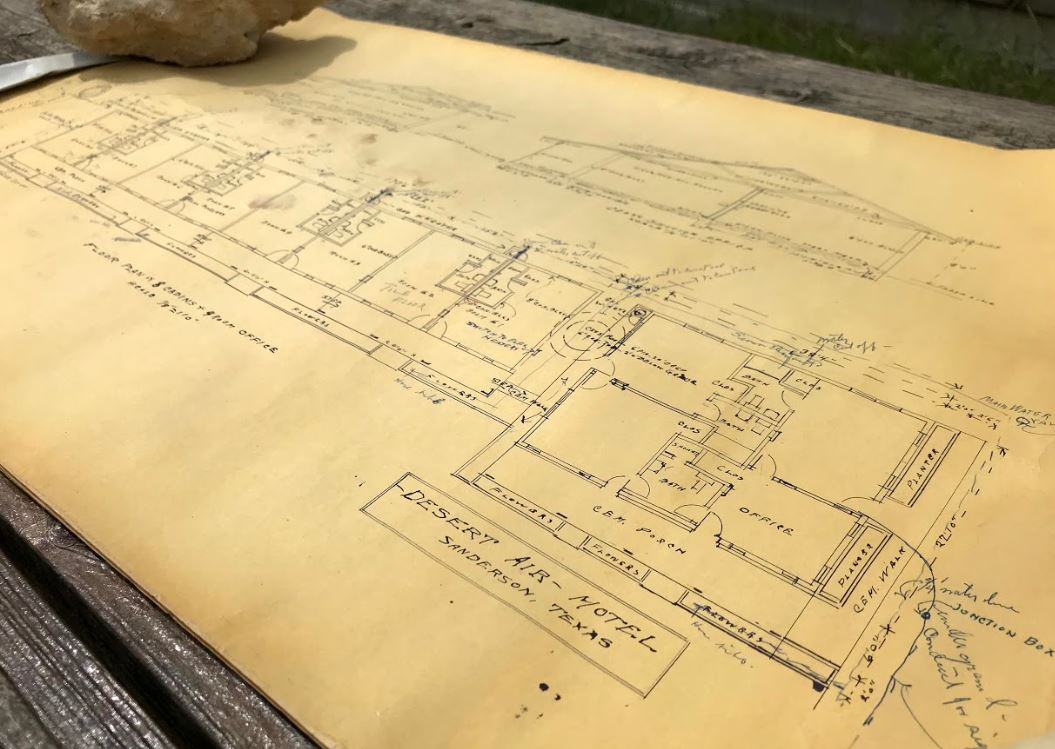 The Original Desert Air Architectural Plans