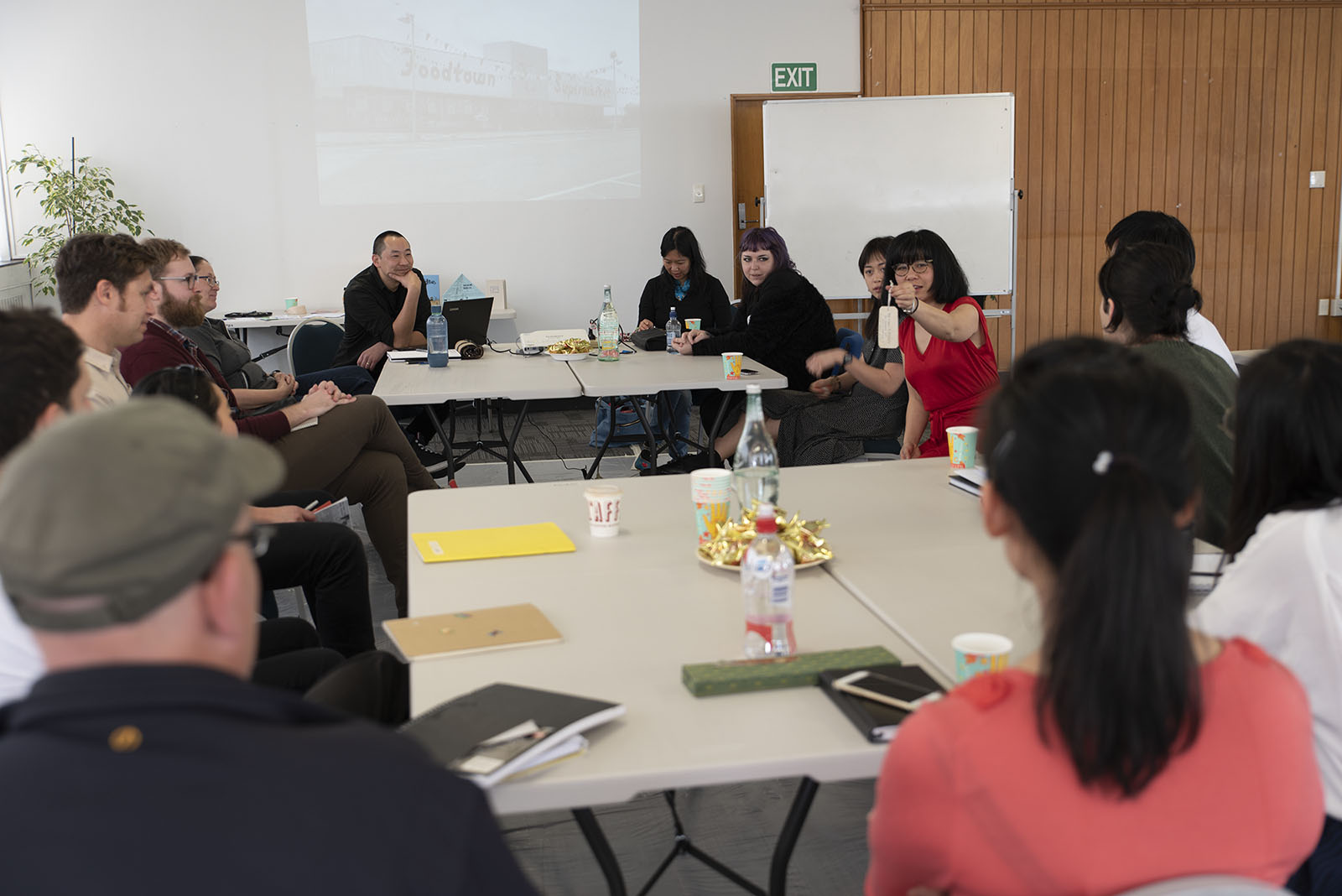 Master Class #3 with Ant Sang, Massey University, 21 September 2018. Photo by John Lake