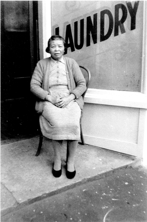 Ma by the Laundry, date unknown. Photograph Courtesy of Lynette Shum ©2018