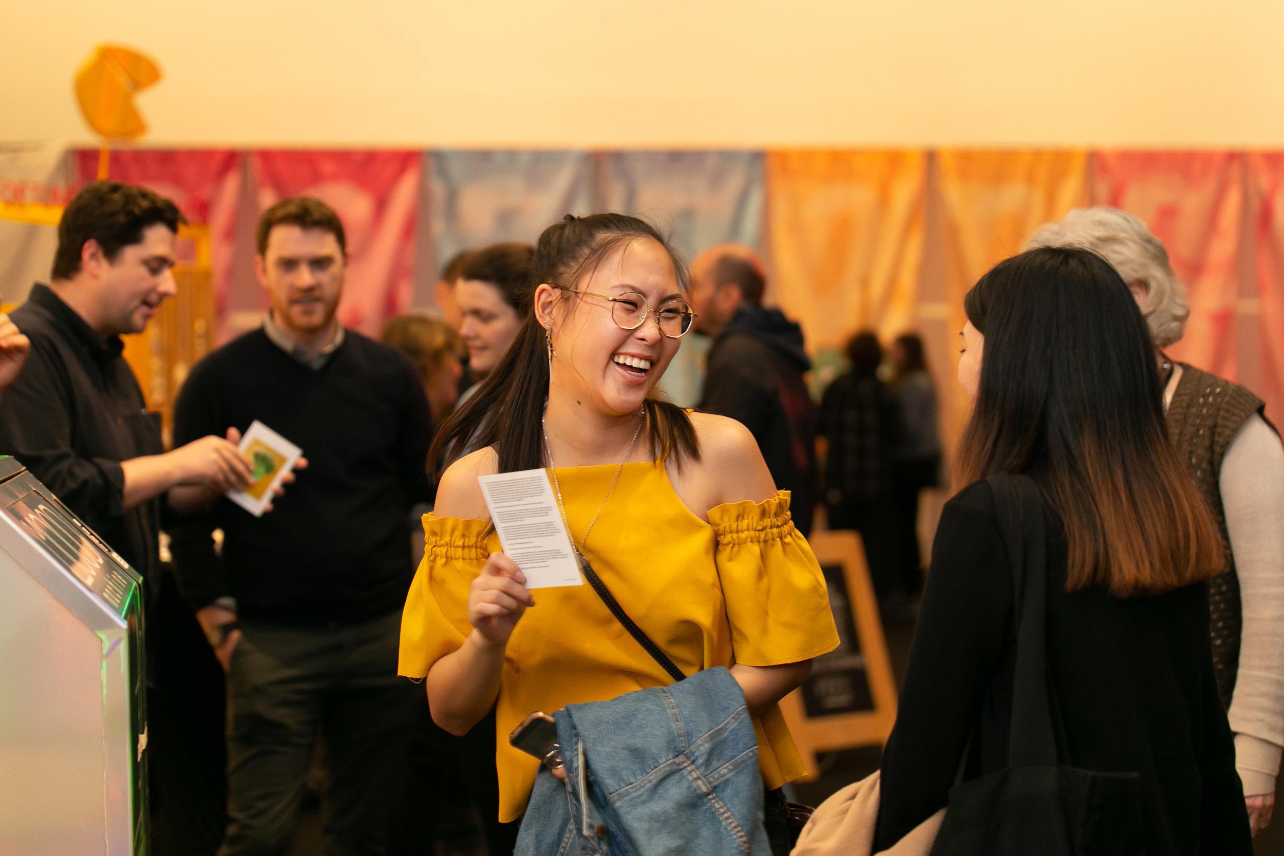 AAAH2018 Opening Party @ Te Papa, 21 September, Te Papa Toi Art Galleries. Photo by Jo Moore, Te Papa