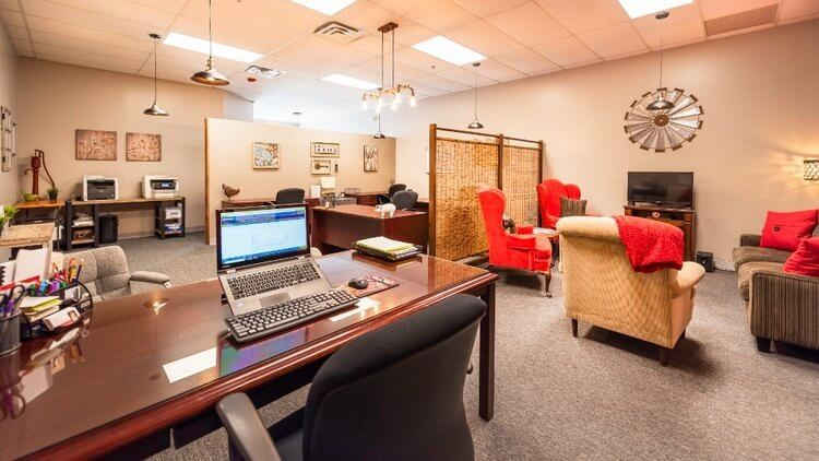 View Of Red Barn Realty Boutique Real Estate Brokerage Office In Ypsilanti