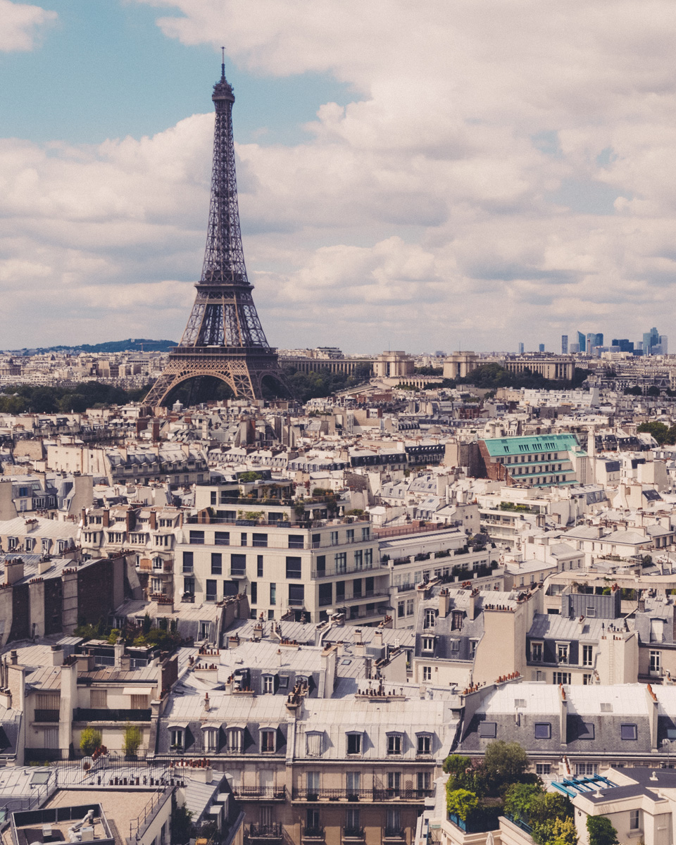 Rooftops of Paris Print