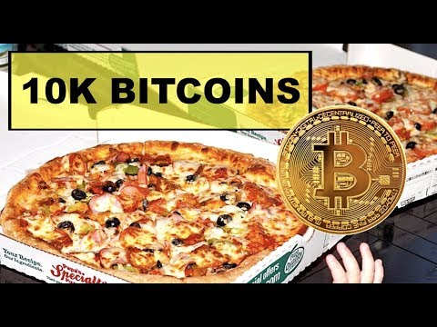 An early adopter sold a couple of pizzas for a whopping 10,000 BTC