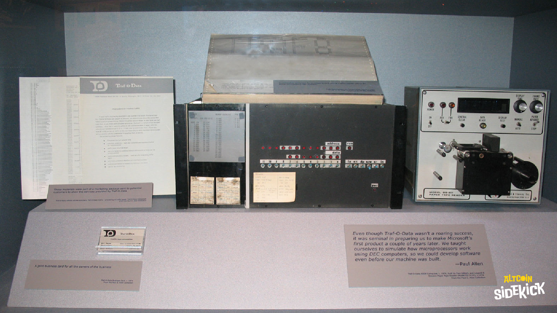 Traf—O-Data in 1972