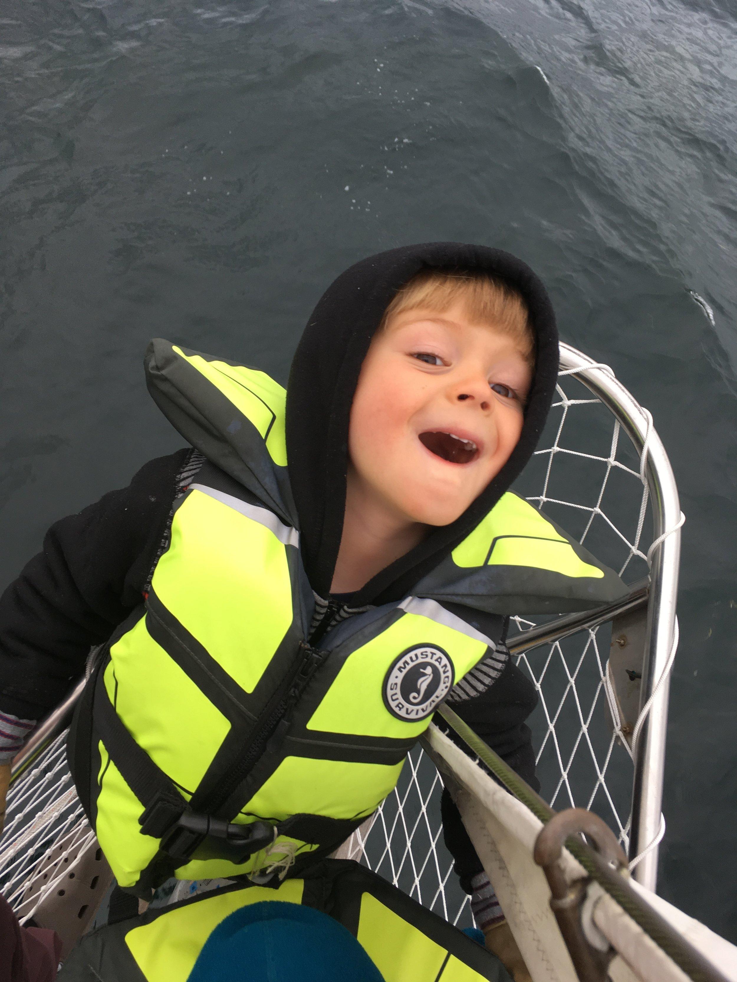 Somebody loves sailing.