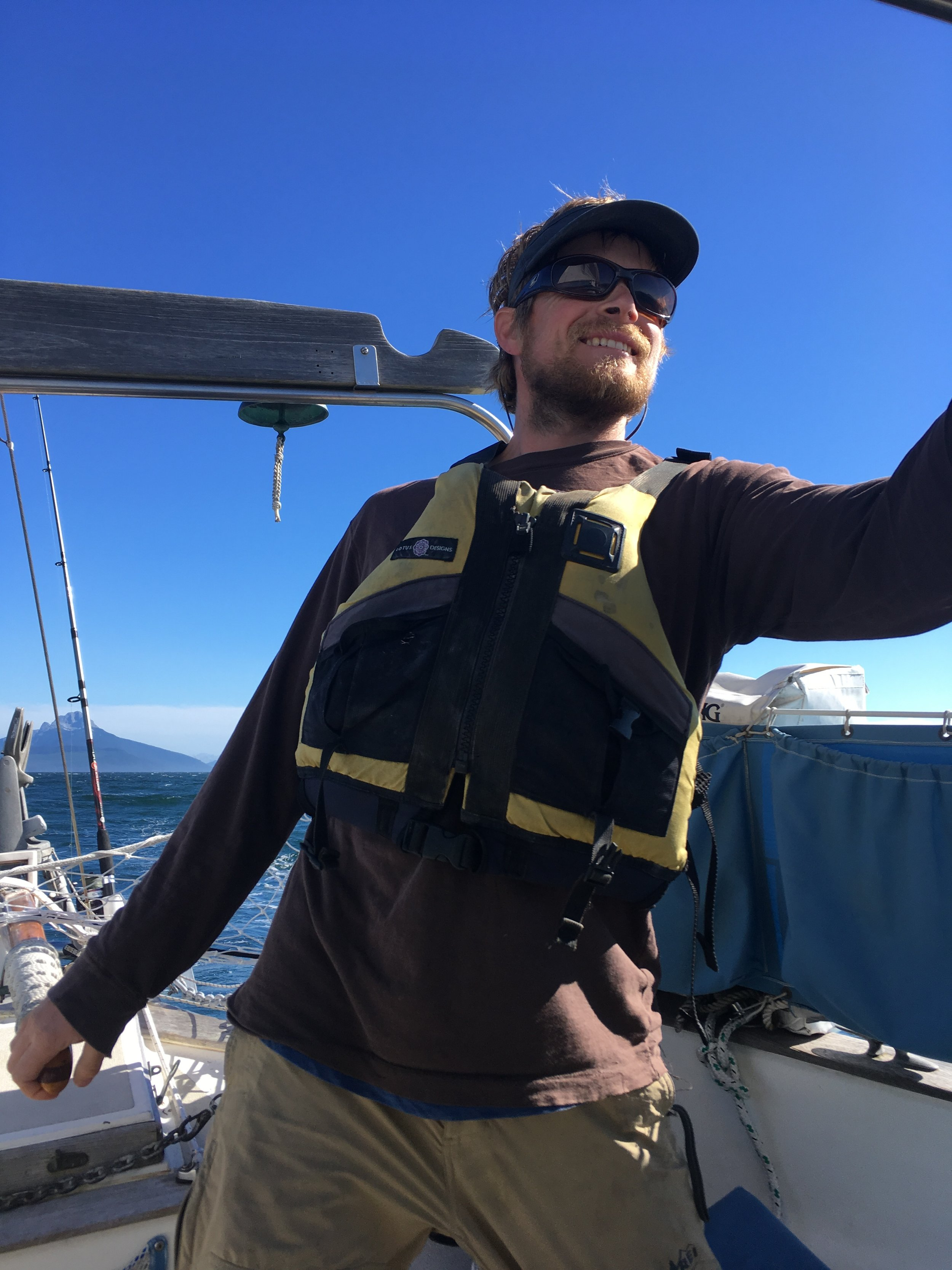 Happy at sail.