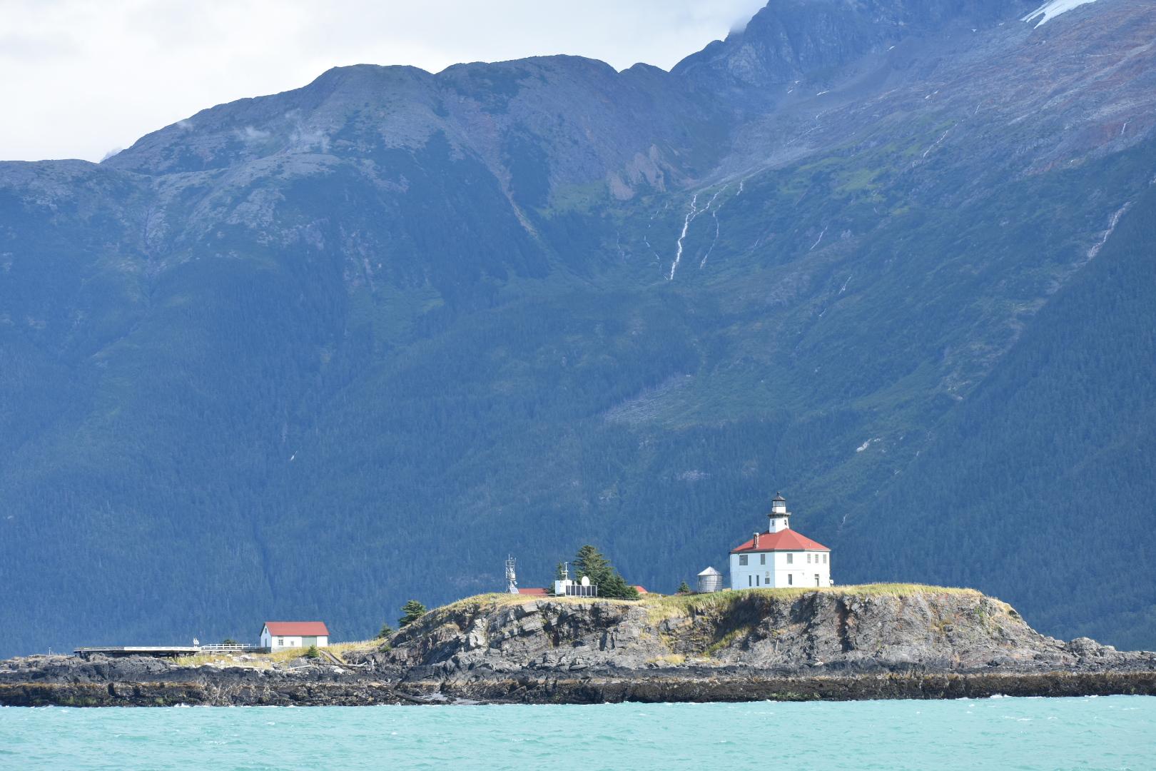 Eldred rock lighthouse.