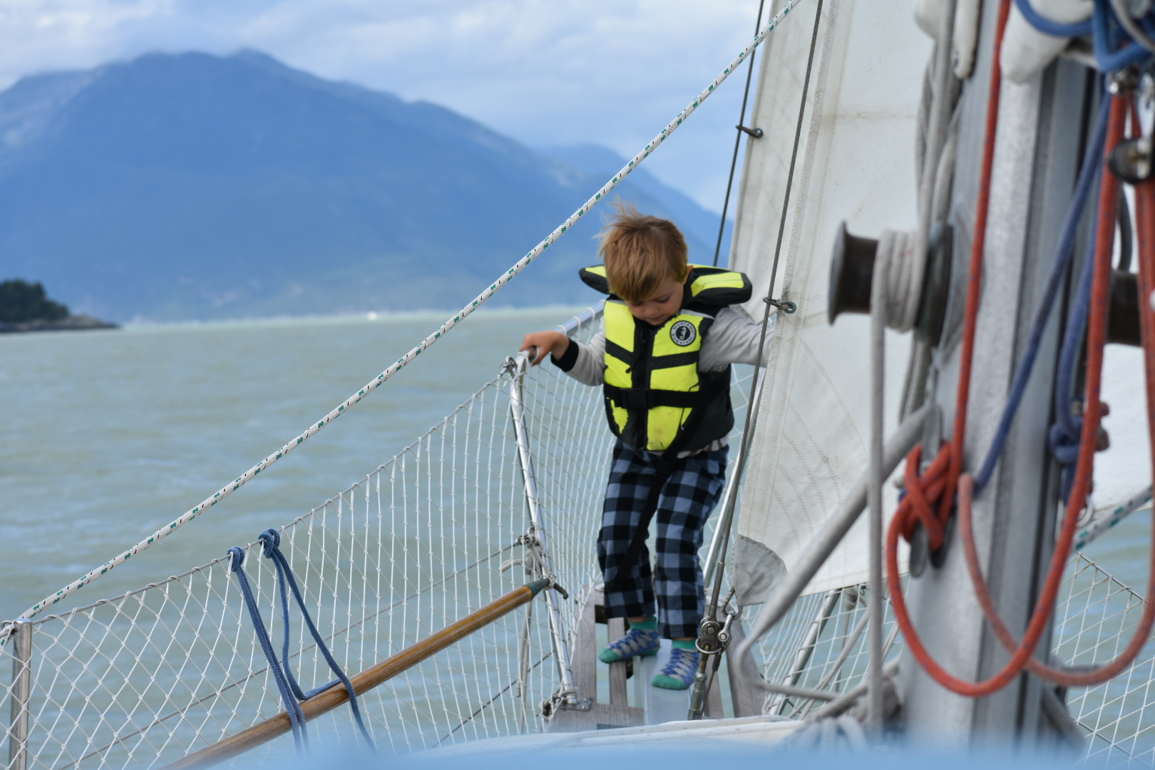 Exciting day in Lynn Canal.