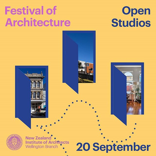 Festival of Architecture Open Studios 2019. Pop in an see what we are up to!
