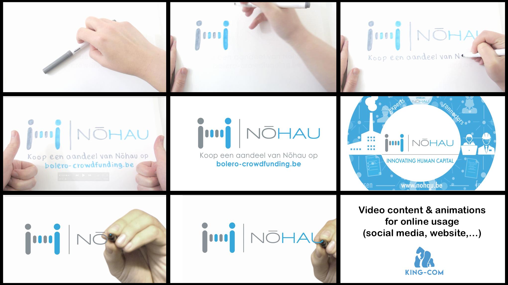 video animaties voor online gebruik