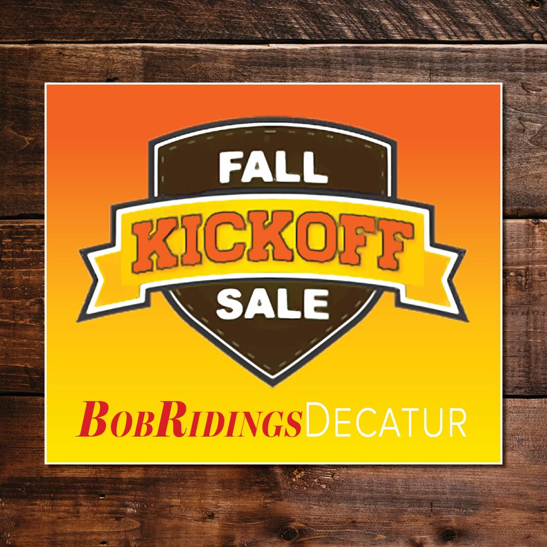 Fall Kickoff Sale Google Display Ad
