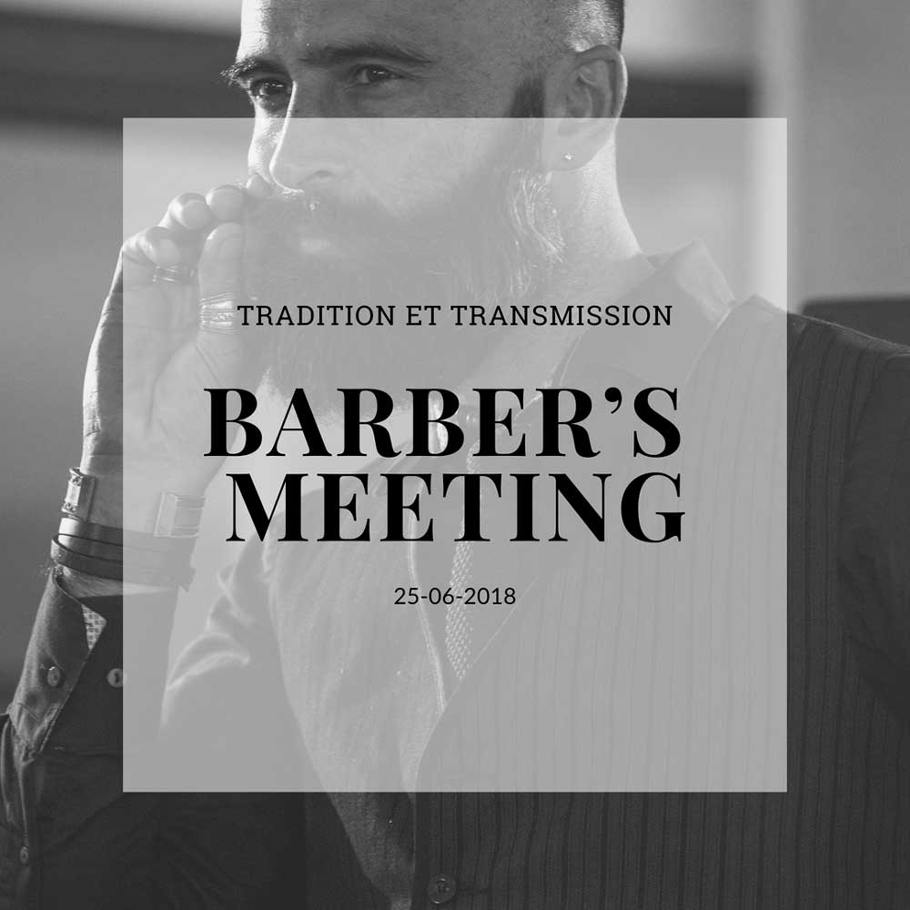 BARBER'S MEETING - 25  juin 2018+ Info