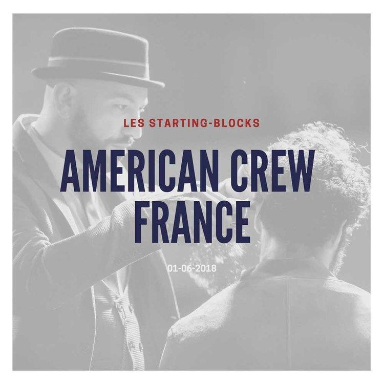 American Crew - Starting-blocks