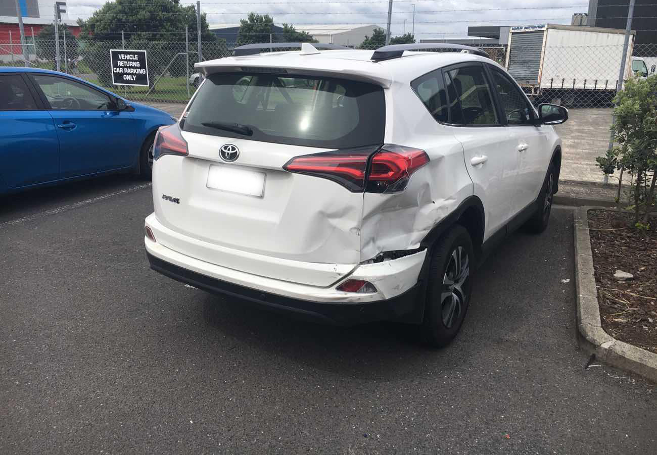 TOYOTA SUV - BEFORE