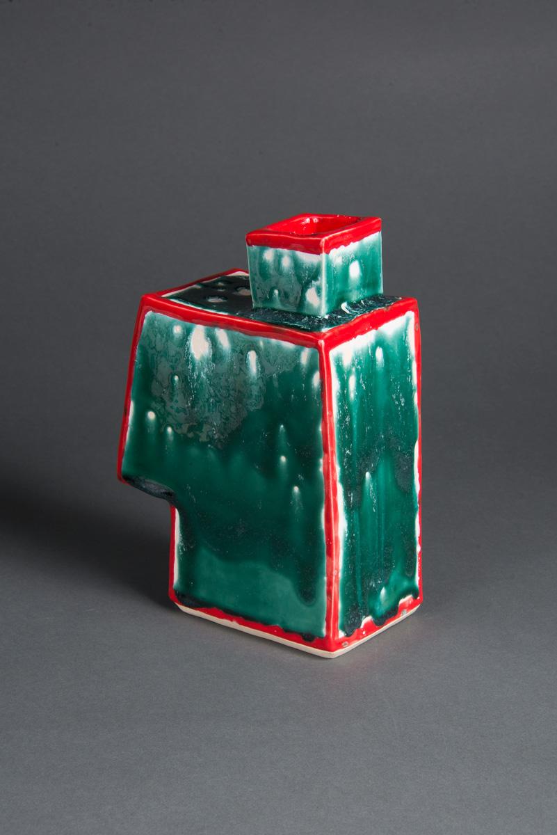 "Untitled, stoneware, 4.5x7x9.5"""