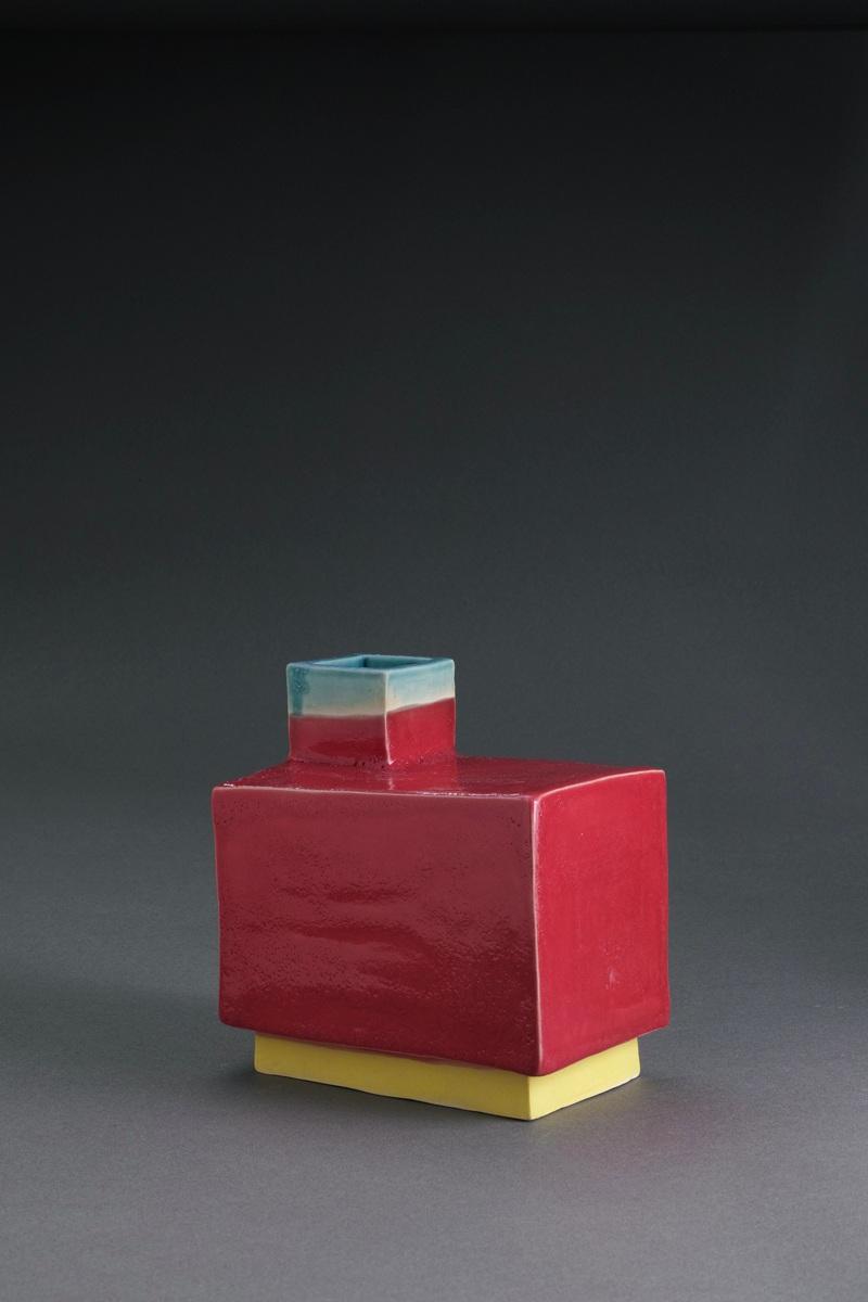 "Untitled , stoneware, 4 x 6 x 6"""
