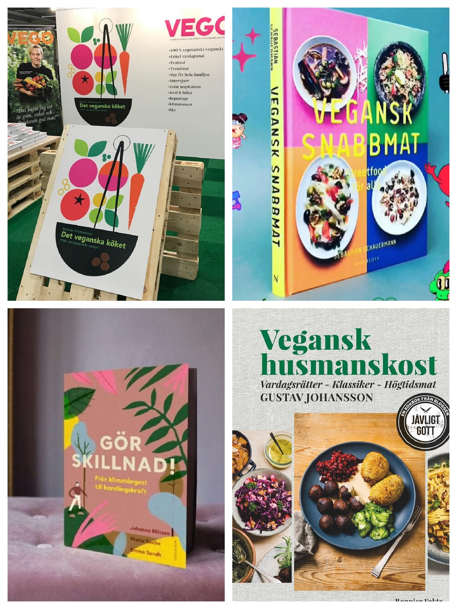 Böcker och tidningar - - För att inspirera till en hållbar(are) livsstil.