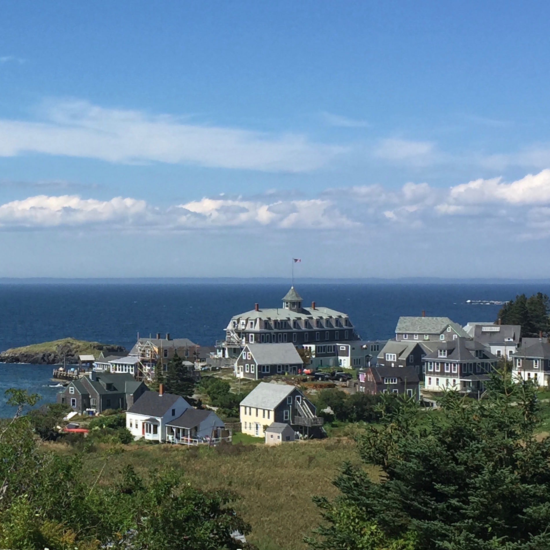 Monhegan, Maine artist and painting workshop location