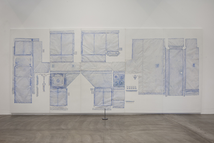 Do Ho Suh (2014)  Rubbing/Loving Project: Kitchen, Apartment A, 348 West 22nd Street, New York, NY 10011, USA