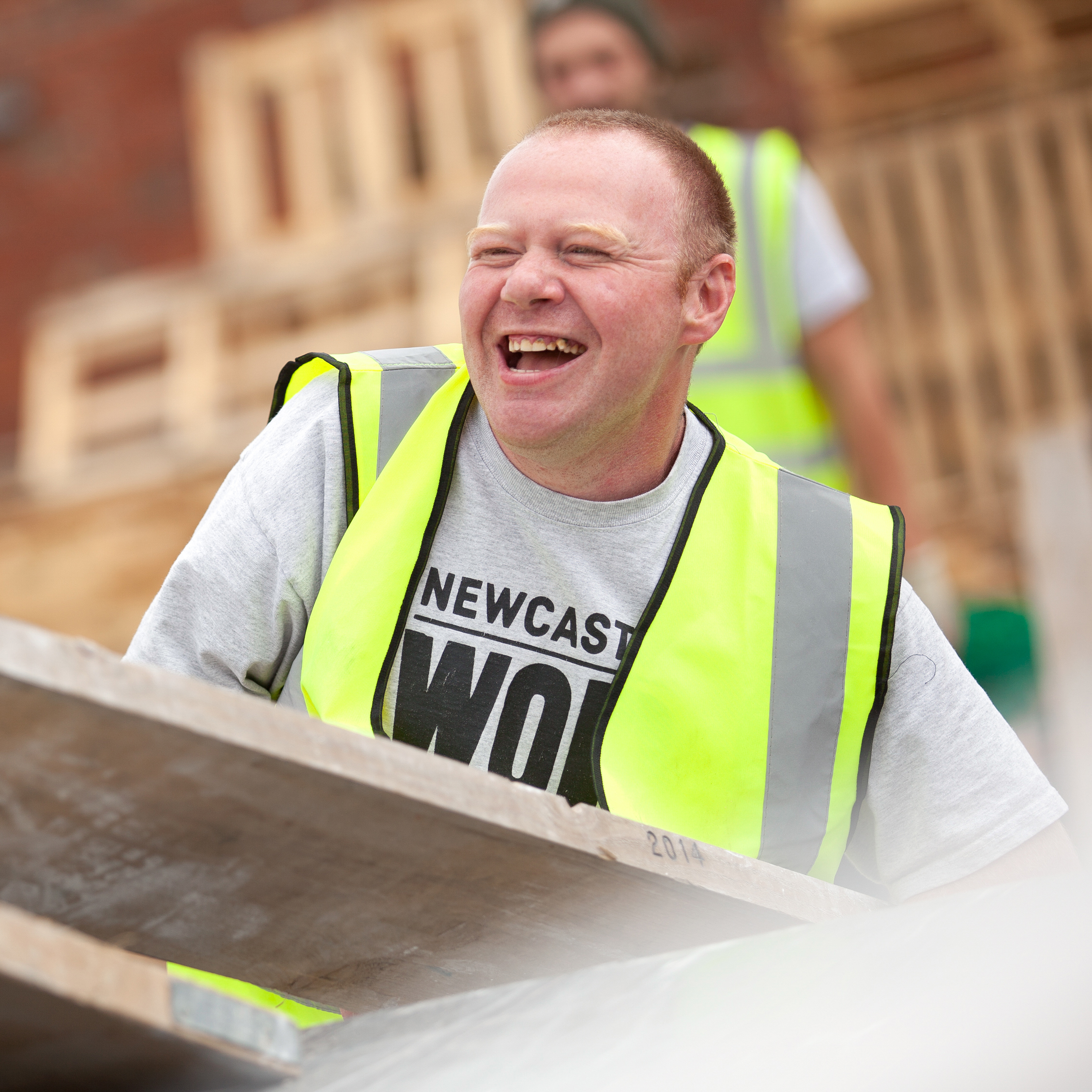 GazzaDriver - Wor Gazza is guaranteed to brighten up your day with his wicked sense of humour. Gary has been part of the team since our second year and is happiest when he's out driving the vans.